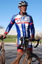 Cyclist Syd Lea