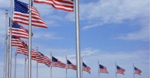 US Flags in DC