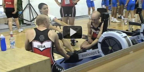 Rowing Relay Practice