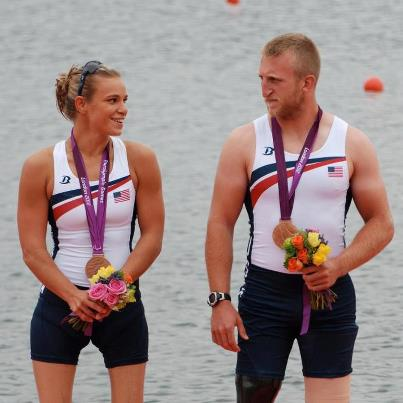 Masters and Jones Mixed Double Scull