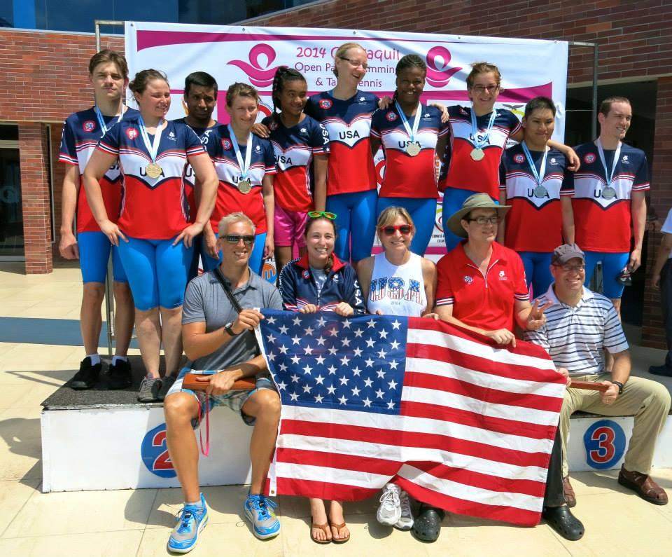 Ecuador Swimming US Team